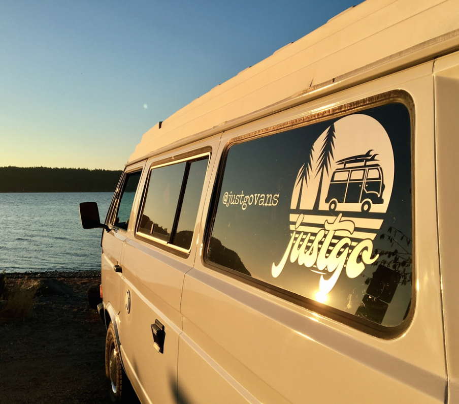 justgo vans van rental nanaimo vancouver island camper van campervan RV alternative mortorhome trailer delivery drop off camping tofino