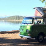 vancouver island camping campground campervan rental