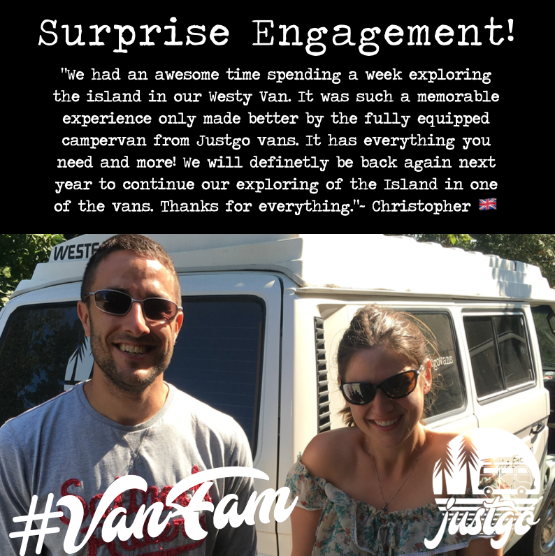 surprise engagement trip vancouver island canada ideas