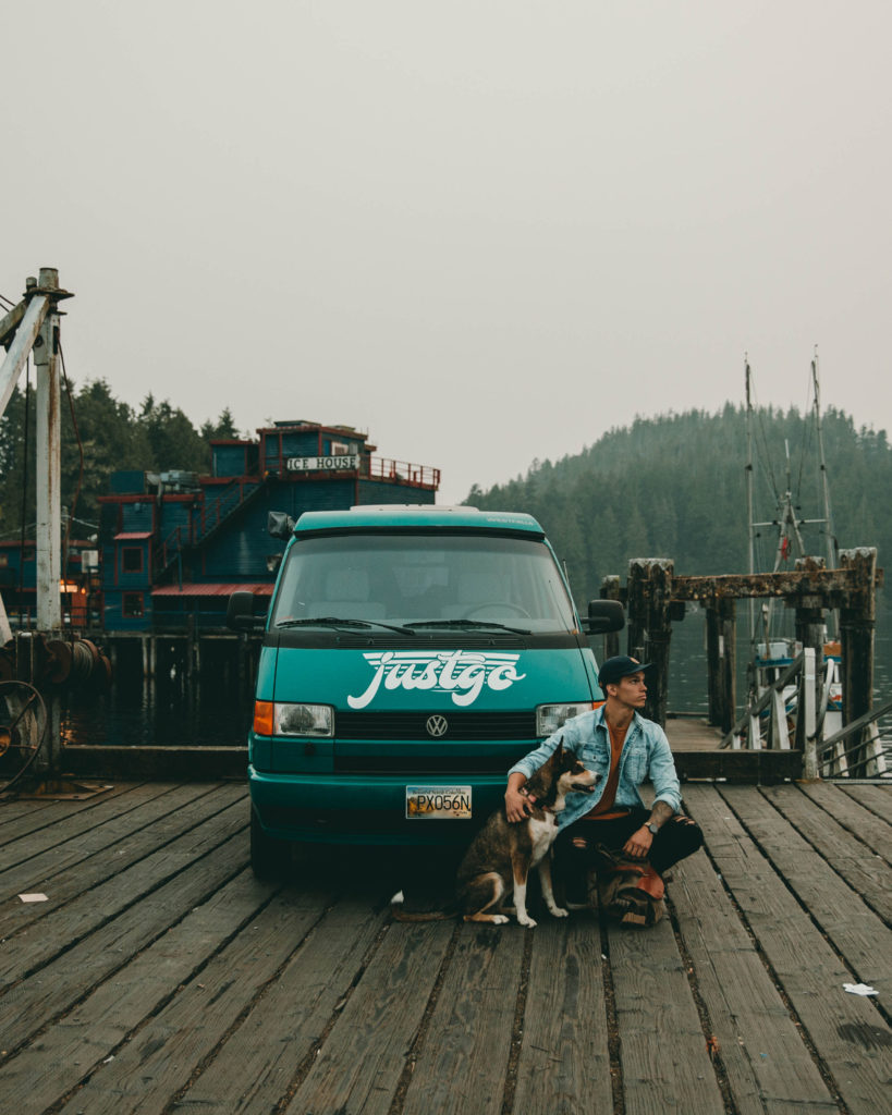 surfing tofino camper van vacation