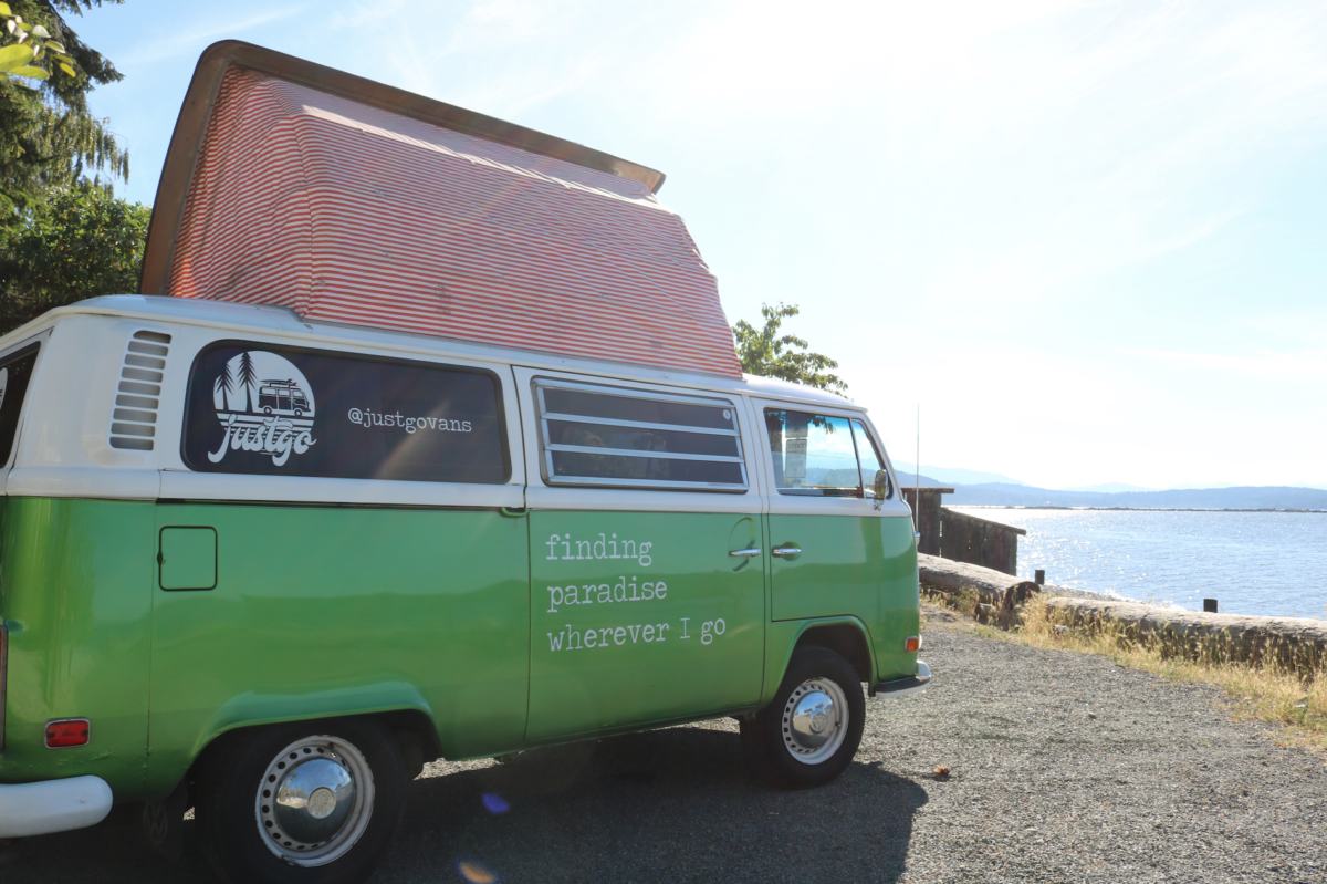 victoria campervan rental hire british columbia canada BC