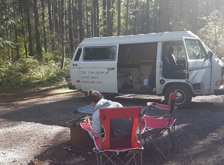 westy campervan rental bc british columbia justgo vans
